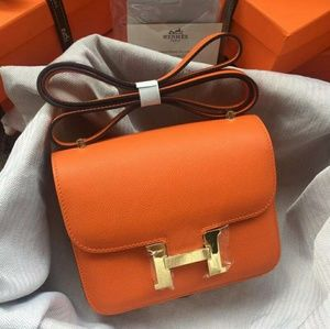 Hermes Constance Bag New Check Description